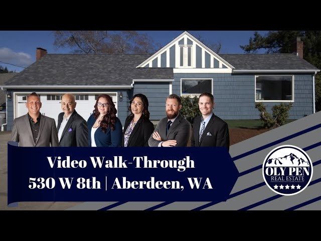 Video Walk-Through | 530 W 8th | Aberdeen, WA