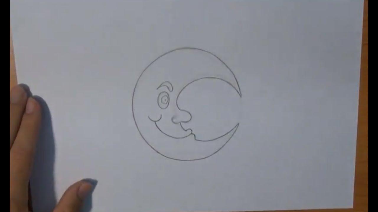 Como Desenhar Uma Lua Animada