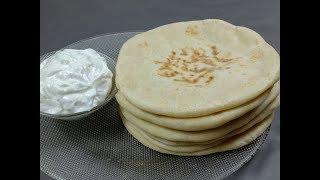 സോഫ്റ്റ് കുബ്ബൂസും കൂട്ടത്തിൽ ഗാർലിക് സോസും || Kuboos\Arabic Bread || Garlic Sauce || Rcp:164