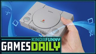 PlayStation Classic Announced! - Kinda Funny Games Daily 09.19.18