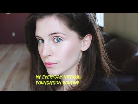 My Everyday Natural Foundation Routine | Salem Bombace Beaut