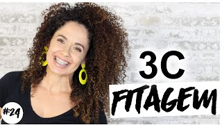 MINHA FINALIZAÇÃO EM CACHOS 3C - Feat Tia Paty #jujubanoVEDA24