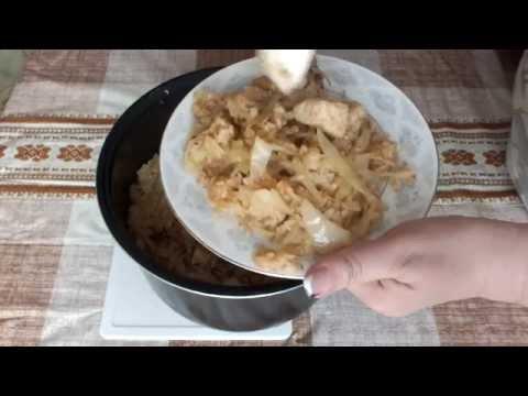 Курица в мультиварке рецепт с капустой