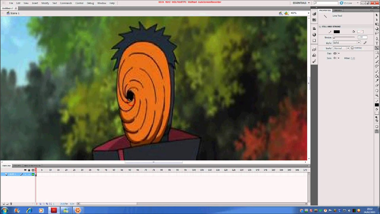 How To Make A Fan Flash Animation Part 1 Anime
