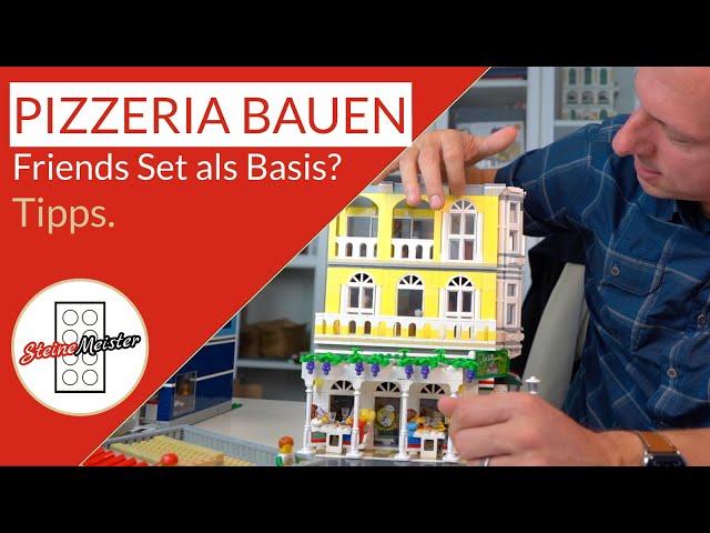 Pizzeria MOC aus Lego® Friends Set (41379) bauen. Tipps & Tricks wie man daraus etwas schönes baut.