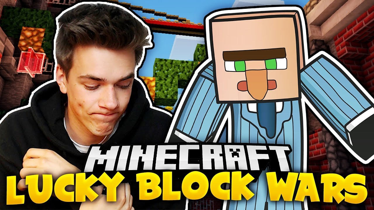 Typisch concrafter lucky block wars krancrafter youtube