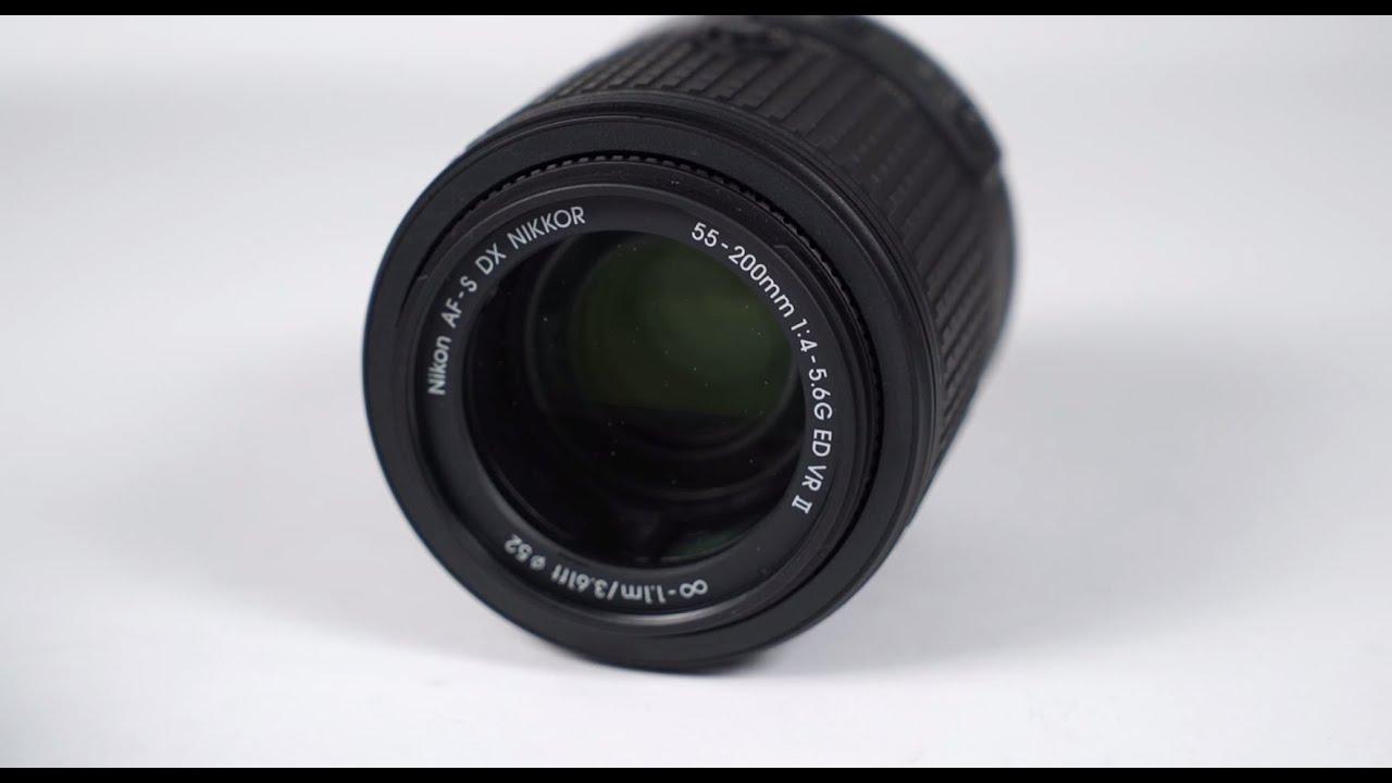 55-200 VR II front element