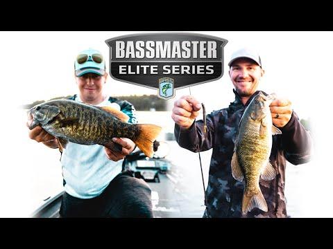 Bass Fishing With Jeff Gustafson (Bass Master Elite Series Pro!!!)