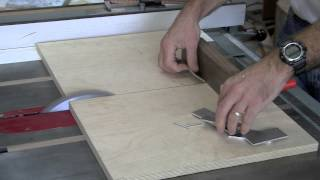 Cutting Aluminum on the Table Saw