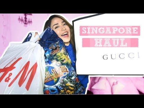 BIGGEST SINGAPORE HAUL?!
