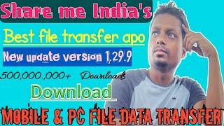 ShareMe - India's best file Transfer app ! how to use Shareme App 2021. screenshot 3