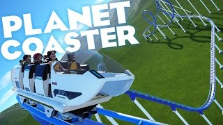 Planet Coaster Gameplay Ep 1 - Building a Double Looped Roller Coaster! (Planet Coaster First Look)