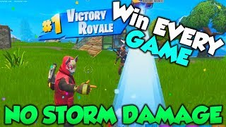 Win EVERY GAME with this GLITCH! NO STORM DAMAGE - Fortnite Season 5 Glitches