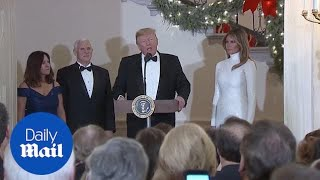 Trump predicts a 'really exciting year' at Congressional Ball