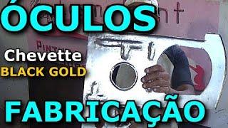 Chevette Black Gold Economia de R$2000 em Recuperação do Painel, Óculos e Saia Pintura Automotiva