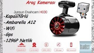 Junsun H030 Araç Kamerası incelemesi