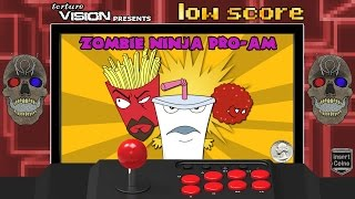 Low Score Longplay: ATHF Zombie Ninja Pro-Am (2007) PS2
