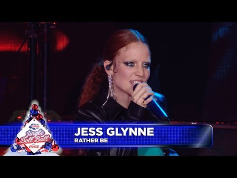 Jess Glynne - 'Rather Be'  at Capital's Jingle Bell Ball