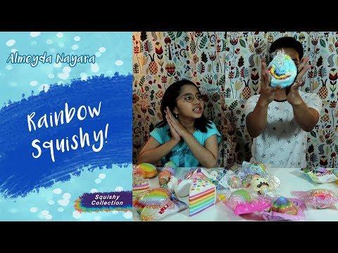 Rainbow Squishy Collections Super Kocak with Om Rafa~