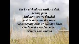 The Sundays - Wild Horses (Lyrics)