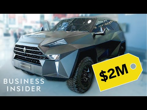 Web Ninja - This SUV Costs 2 Million... Here's Why!