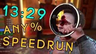 Boneworks VR Any% Speedrun in 13:29 [NEW WORLD RECORD]