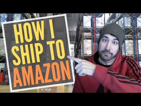 How to Ship to Amazon FBA Guide to Send Inventory Shipments of Retail Arbitrage Walmart Clearance