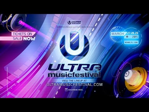ULTRA MUSIC FESTIVAL PHASE ONE LINEUP