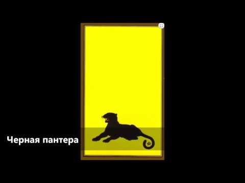 Черная пантера, Персидская колода Таро мадам Индиры