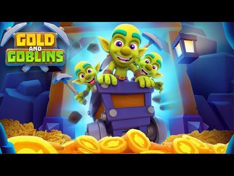 Xây Dựng Tiến Hóa Golbin Đào Cả Tấn Vàng - Gold and Goblins: Idle Miner Top Game Android Ios