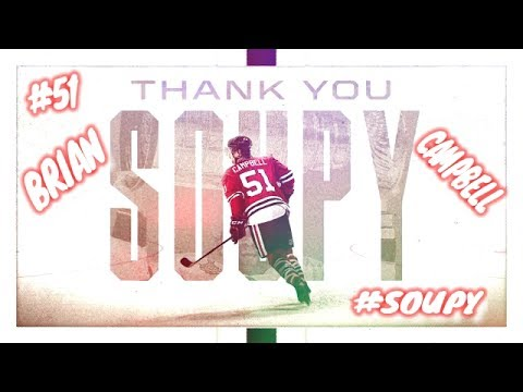 CHICAGO BLACKHAWKS BRIAN CAMPBELL TRIBUTE VIDEO