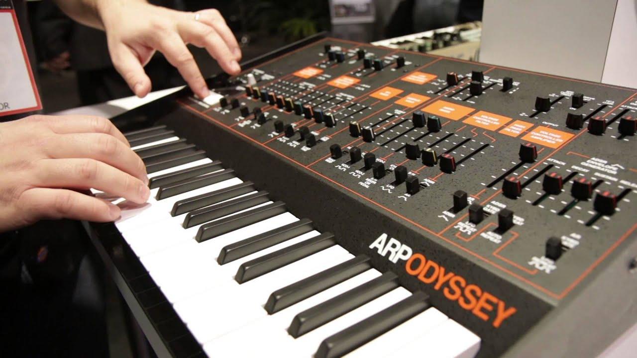Guitar Center Synthesizers : guitar center new from namm 2015 korg arp odyssey analog synthesizer youtube ~ Vivirlamusica.com Haus und Dekorationen