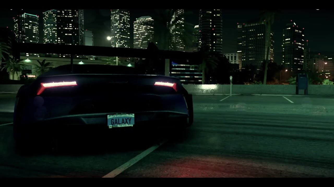Lamborghini Galaxy Huracan Need For Speed Wrap Youtube