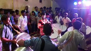 Old alwal chathrapati Shivaji Sena ganesh nimajjanam processing 2k17 with bad band