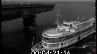 Варваровский мост в Николаеве, открытие движения.
