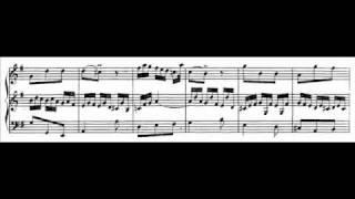 J.S. Bach - BWV 528 (3) - Sonata IV - Un poco Allegro e-moll / E minor