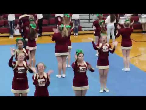 Eldon High School pep assembly 11-3-17