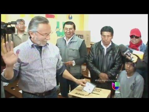 Bolivia tuvo una cita con las urnas
