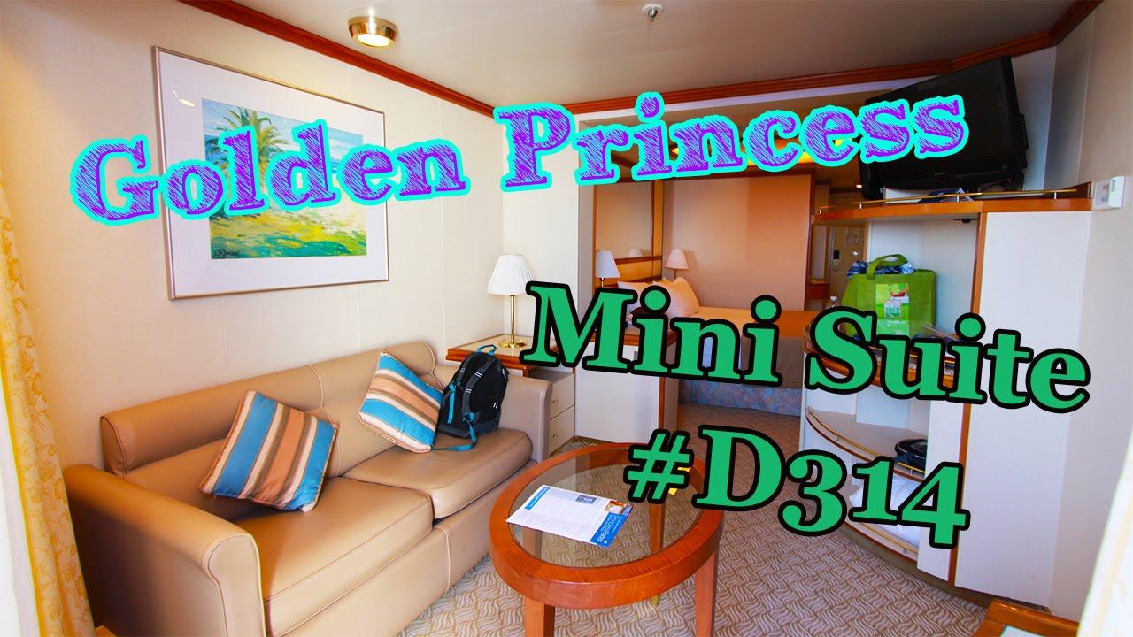 Golden Princess Mini Suite Stateroom Cabin Deck 9 Dolphin