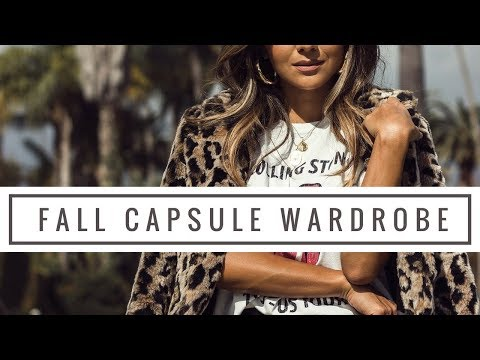 Fall Capsule Wardrobe | Must Have Pieces for Fall