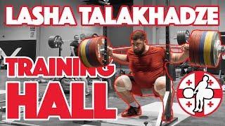 Lasha Talakhadze Part 1/3 (120kg Muscle Snatch + 155kg Push Press + SP + BS) 2017 WWC [4k60]