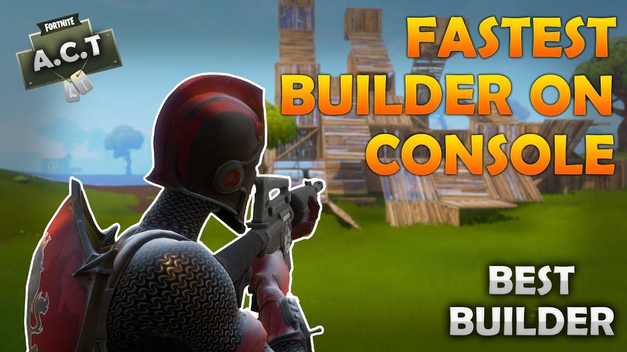 Best Builder Fortnite