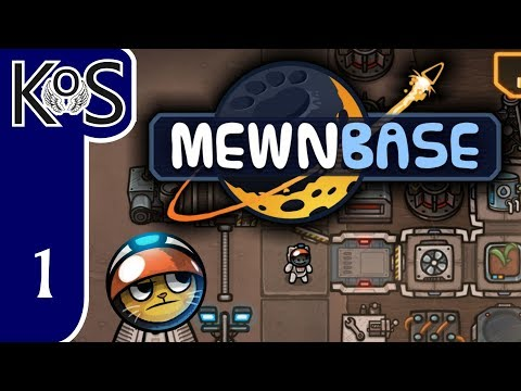 MewnBase Ep 1: SPACE CAT SURVIVING ON AN ALIEN WORLD! - First Look - (Early Access v0.39) Let's Play