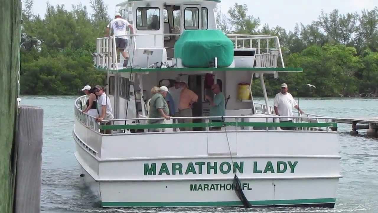 Fishing day on the marathon lady youtube for Marathon fishing report