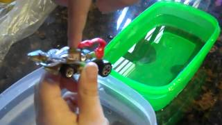 Hot Wheels Color Shifters CREATURES Scorpedo Car Review