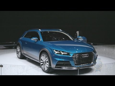 Audi Allroad Shooting Brake Concept - 2014 Detroit Auto Show