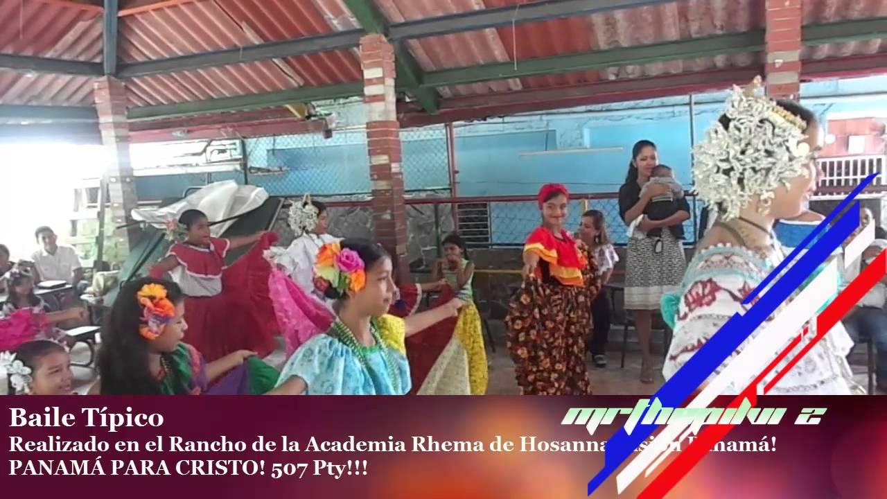 Baile tipico de las provincias de panam 225 rancho misi 211 n infantil