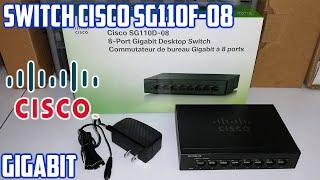 Switch Ethernet Cisco SG110D-08   8 Puertos   Unboxing En Español