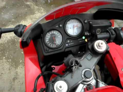 Honda Cbr 600 F3 1998 Youtube