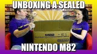 Gambar cover Unboxing A Sealed Nintendo M82 - Ep 04 - The Last Gamer Show